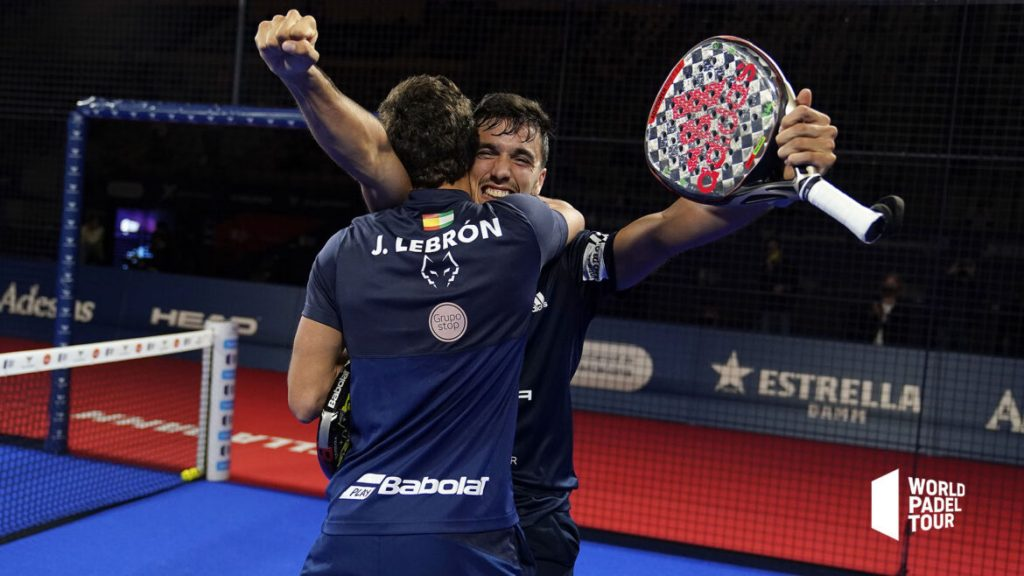 Lebrón y Galán campeones en Barcelona