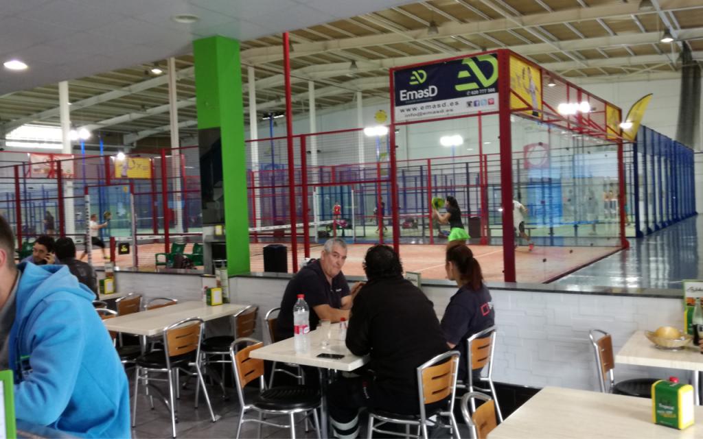 Cafetería Pádel