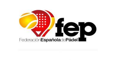 Logo Federación Española de Pádel