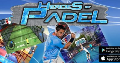 Videojuego Heroes of Padel