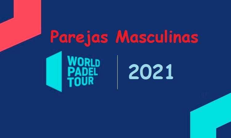 Nuevas parejas masculinas WPT 2021