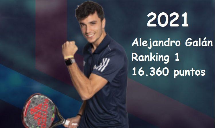 Alejandro Galán, ranking 1 WPT 2021