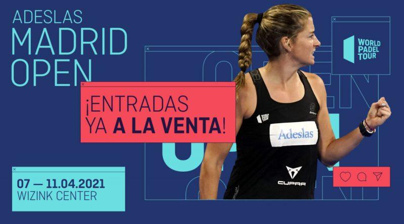 Entradas a la venta Madrid Open