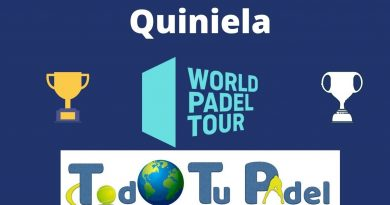 Portada clasificación Quiniela WPT-TTP