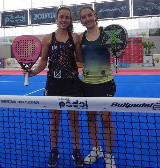 Marta Talaván y Lorena Rufo