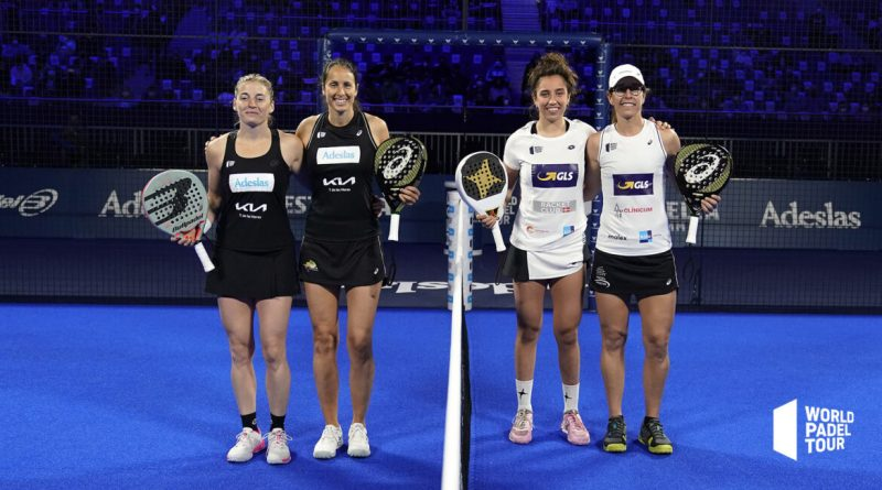 Ale Salazar, Gemma Triay, Bea y Lucía en la semifinal femenina del WPT Madrid Open