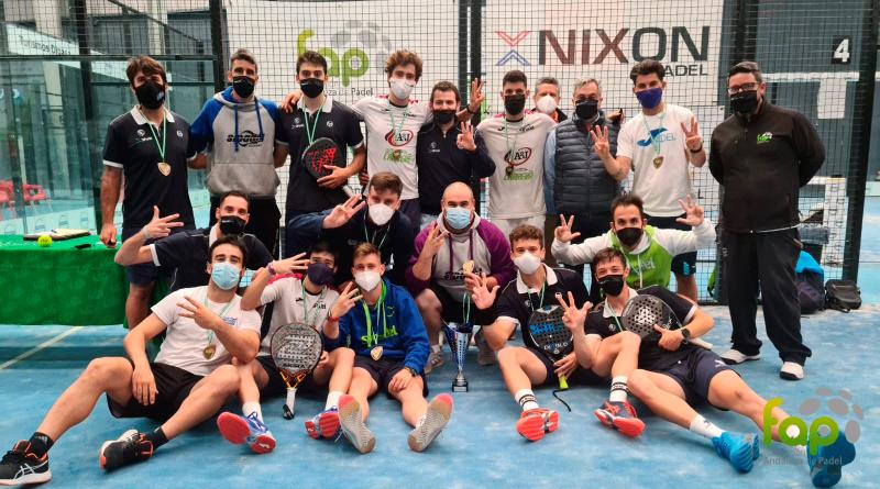 Rio Grande, ganadores del Campeonato de Andalucía por equipos de primera