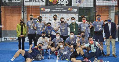 Río Grande, ganadores del CAmpeonato de España de pádel por equipos de segunda
