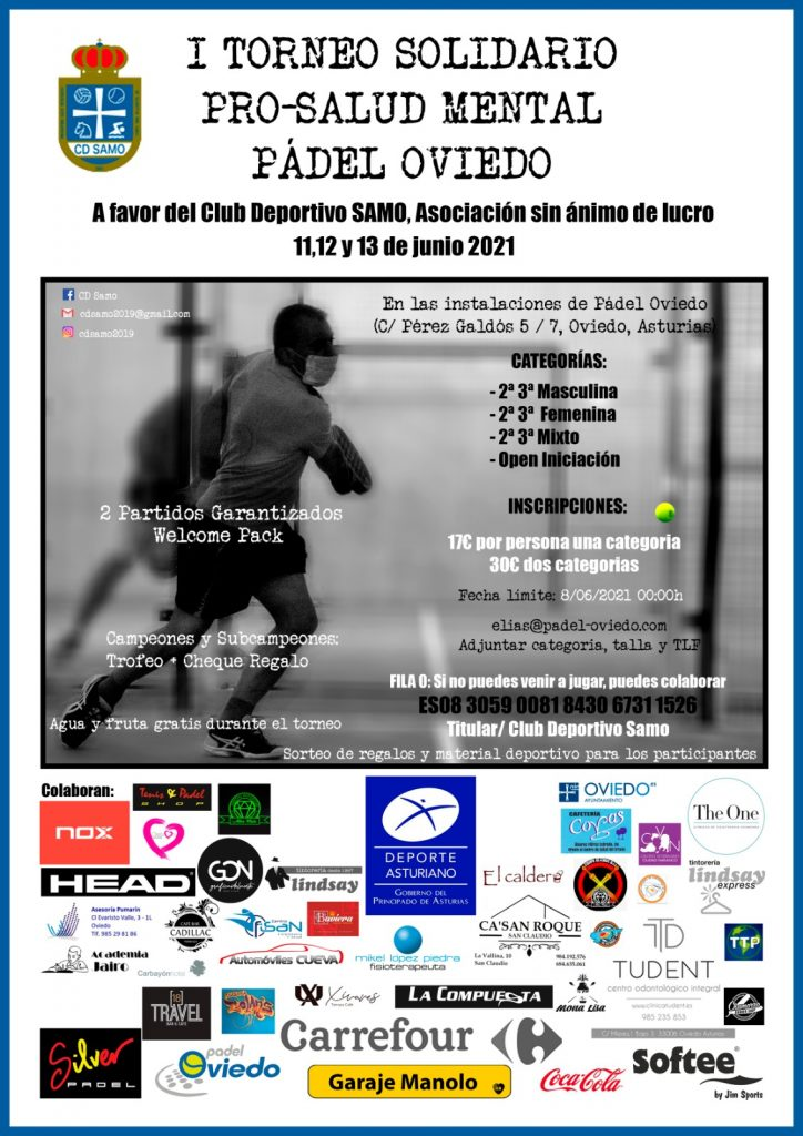 I Torneo Solidario SAMO-Pádel Oviedo