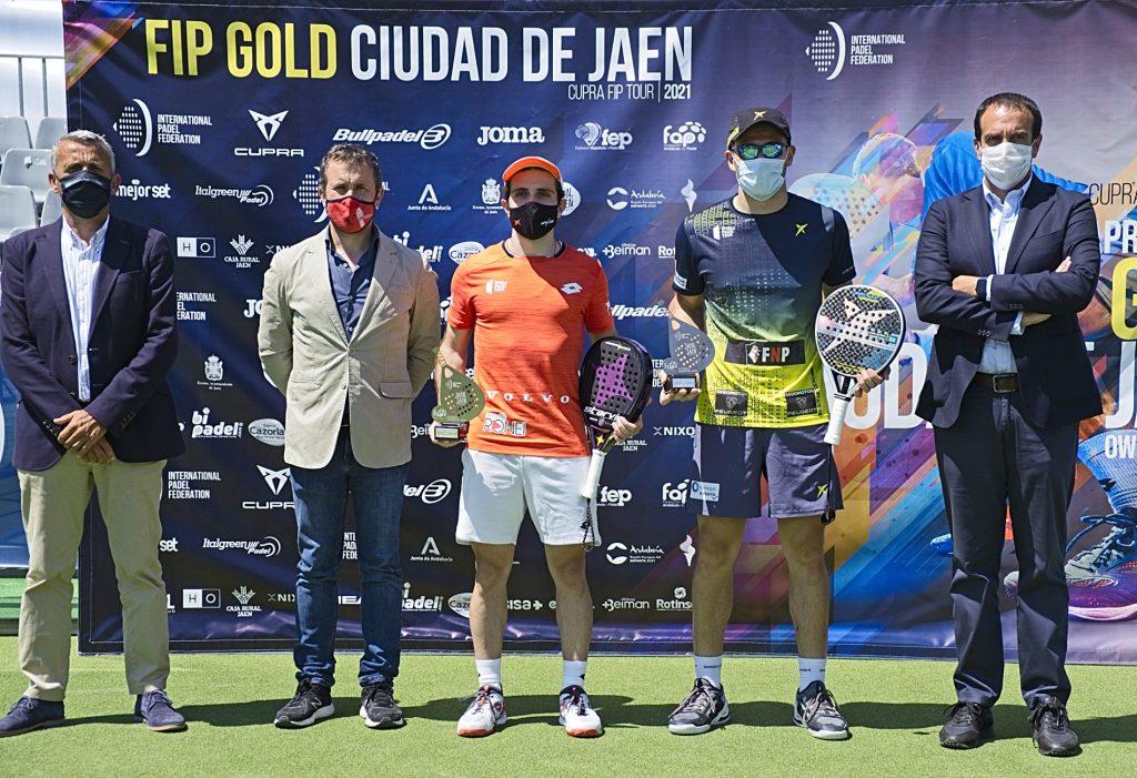 Lucas Bergamini y Lucas Campagnolo, Campeones del FIP GOLD Ciudad de Jaén 2021