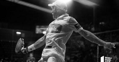 Fernando Belasteguín en la semifinal del WPT Vigo Open 2021