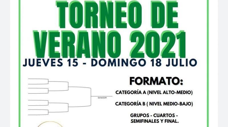 Torneo de pádel en Tineo verano 2021