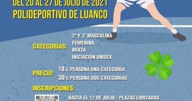 V Torneo de Pádel Manolo Artime de Luanco