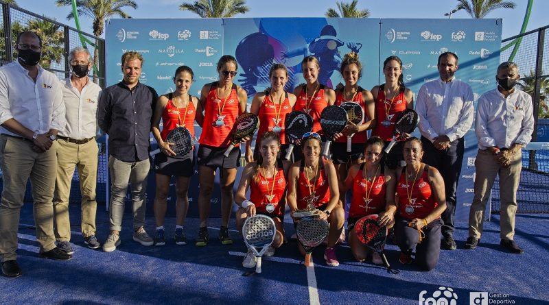 España Campeona de Europa de pádel 2021