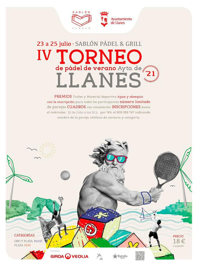 Torneo de pádel en Llanes