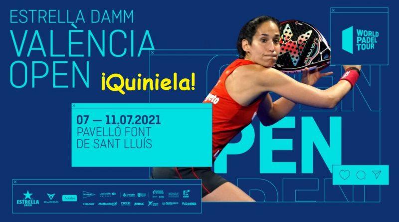 Quiniela WPT Valencia Open 2021