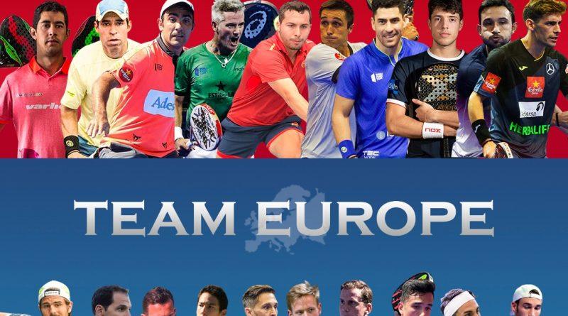 Encuentro América vs Europa de pádel 2021