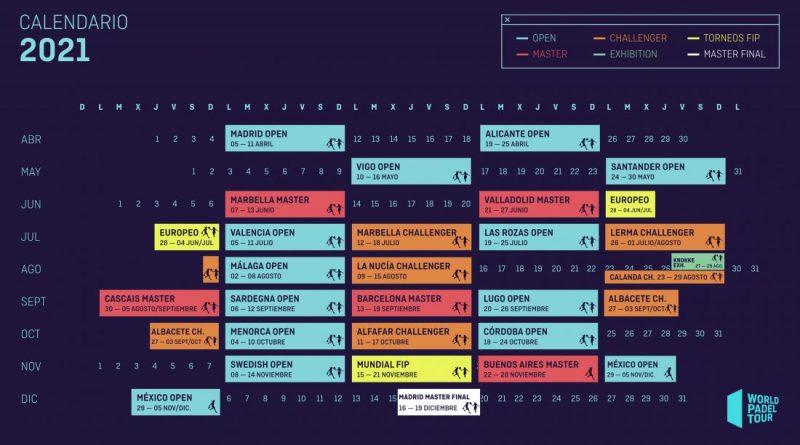 calendario WPT (agosto 2021)