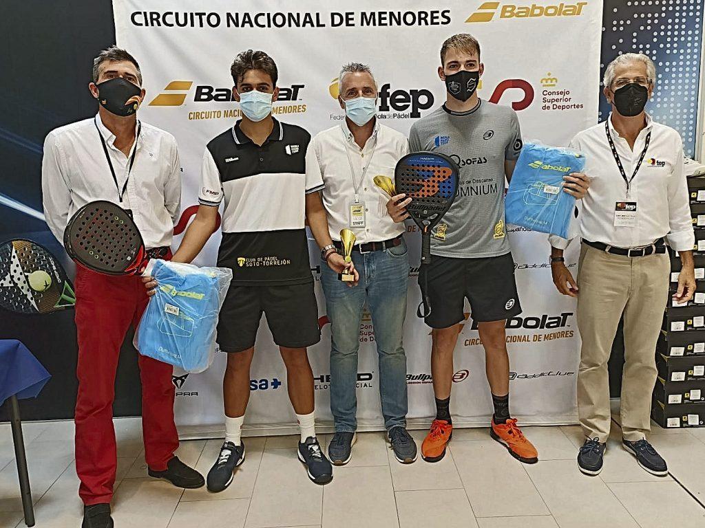 Alonso Rodríguez y Pablo García, campeones de España junior 2021