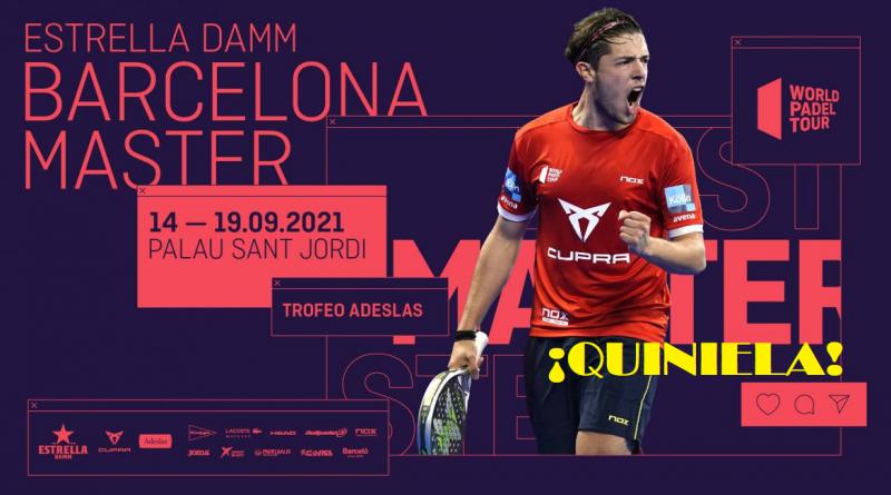 Quiniela Barcelona Master 2021