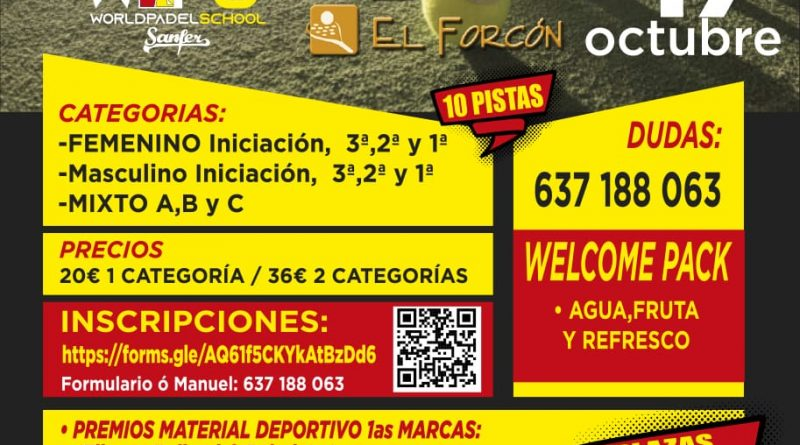 Torneo WPS El Forcón
