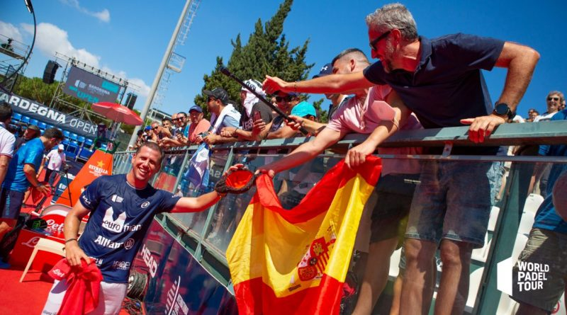 Cuartos de final Sardegna Open. Paquito Torero